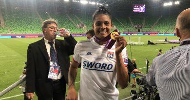 """Soledad Jaimes: """"Es un orgullo ser futbolista argentina, venir a jugar a Europa y ganar los tres campeonatos"""""""