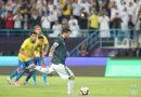 <span style='color:#FFF;font-size:12px;text-transform: uppercase;background-color:#289dcc;'>ARGENTINA 1-0 BRASIL</span> </br> Con gol de Messi, Argentina volvió a ganarle a Brasil en el amistoso disputado en Arabia Saudita