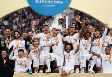 <span style='color:#FFF;font-size:12px;text-transform: uppercase;background-color:#289dcc;'>REAL MADRID (4) 0-0 (1) ATLÉTICO MADRID</span> </br> Real Madrid campeón en la Supercopa, y Zidane festeja en otra final ante el Cholo Simeone