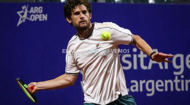 Pedro Sousa, el finalista afortunado del Argentina Open 2020