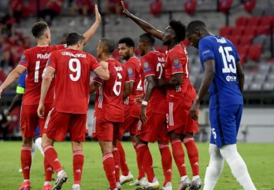 <span style='color:#FFF;font-size:12px;text-transform: uppercase;background-color:#289dcc;'> BAYERN MUNICH 4-1 CHELSEA </span> </br> Bayern Munich aplastó al Chelsea nuevamente