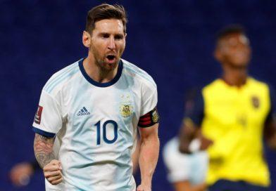 <span style='color:#FFF;font-size:12px;text-transform: uppercase;background-color:#289dcc;'>ARGENTINA 1-0 ECUADOR</span> </br> Penal, gol, tres puntos y nada más