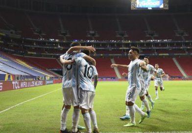 <span style='color:#FFF;font-size:12px;text-transform: uppercase;background-color:#289dcc;'>ARGENTINA 1-0 URUGUAY</span> </br> Llegó la victoria y ante el rival más fuerte del grupo