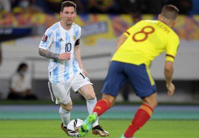 <span style='color:#FFF;font-size:12px;text-transform: uppercase;background-color:#289dcc;'>COLOMBIA 2-2 ARGENTINA</span> </br> Argentina mereció más, pero Colombia encontró el empate sobre el final