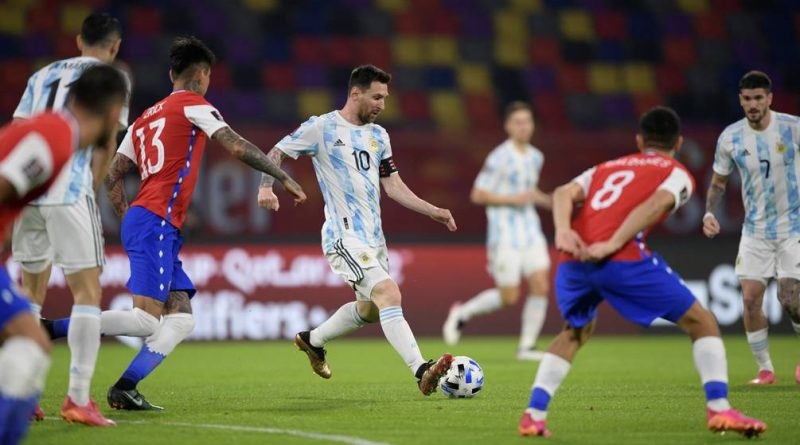 Argentina 1 Chile 1