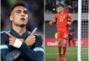 <span style='color:#FFF;font-size:12px;text-transform: uppercase;background-color:#289dcc;'>ARGENTINA 1-0 PERÚ</span> </br> ¡Si es Toro, es goleador…  Si es Martínez, es ganador!